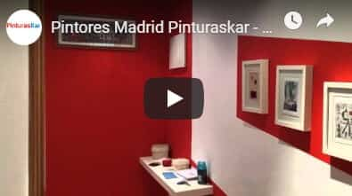 video pintura madrid central
